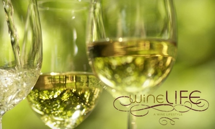 wineLIFE - New York City: $29 for a One-Month Book Club Membership ($59.95 Value) or $12 for $25 Worth of Wine at wineLIFE in Stapleton