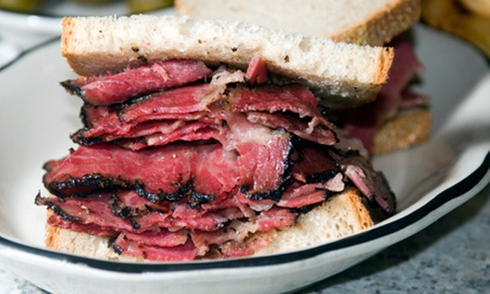 The Woodside Deli - Central Rockville: $10 Worth of Deli Sandwiches and Cuisine