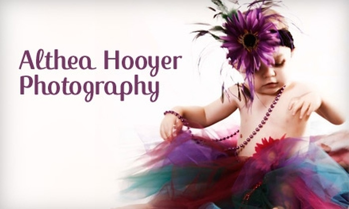Althea Hooyer Photography - Rock Rapids: $55 for On Location or In Studio Kids Session with Althea Hooyer Photography (Up to $185 Value)