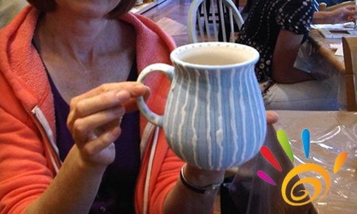 The Expressive Hand - Bella Vista/ Southwark: $12 for $25 Worth of Pottery Painting at The Expressive Hand