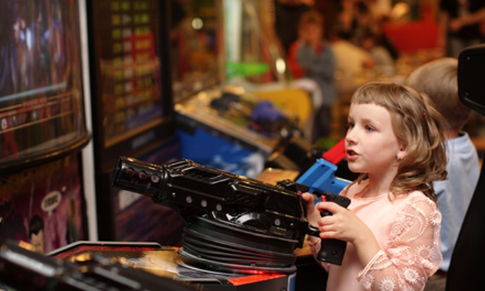 Shakers Fun Centre - Calgary: Indoor or Indoor and Outdoor Birthday Party Package for Up to Nine People at Shakers Fun Centre (Up to 54% Off)