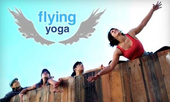 Flying Yoga - San Francisco: $20 for 20 Yoga Classes at Flying Yoga in Oakland ($180 Value)