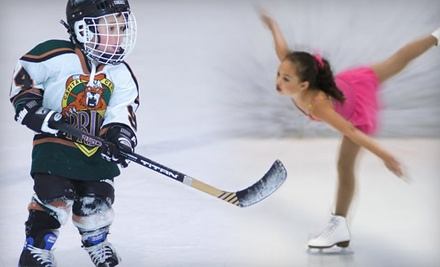 Ice-Skating Outing for Two (up to an $18 value) - The Summit Sports and Ice Complex in Dimondale