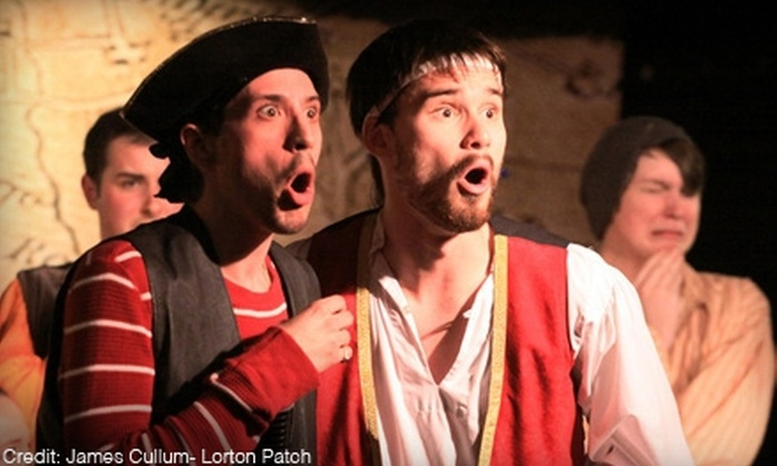 "Lazy Susan Dinner Theatre - Lorton: $20 for Dinner-Theater Outing to ""The Pirates of Penzance"" from November 3–6 at Lazy Susan Dinner Theatre in Lorton (Up to $44.95 Value)"