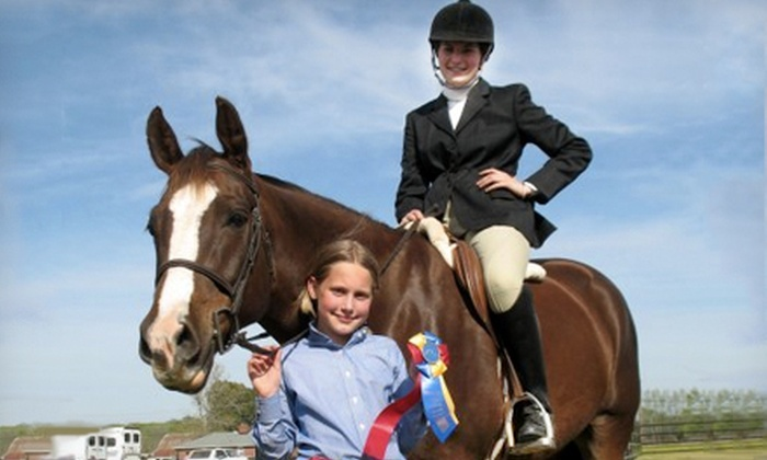 Cypress Creek Stables & Kennel - Virginia Beach: Three Private Riding Lessons or Summer Riding Camp at Cypress Creek Stables and Kennel in Virginia Beach (Up to 60% Off)
