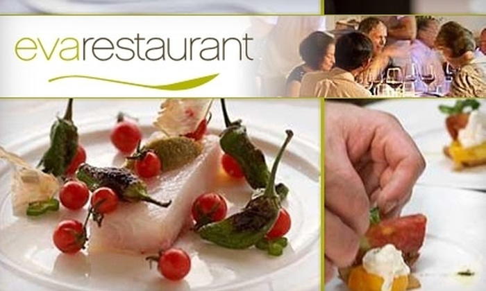 Eva Restaurant - Mid-Wilshire: $35 for a Three-Course Lunch for Two and a $25 Gift Certificate to Eva Restaurant ($69 Value)