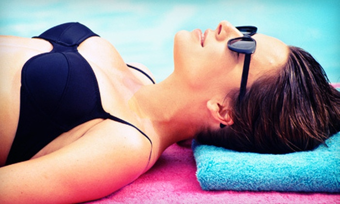 Palmetto Tanning - Van Wyck: One, Three, or Five Airbrush-Tanning Sessions at Palmetto Tanning in Fort Mill (Up to 72% Off)