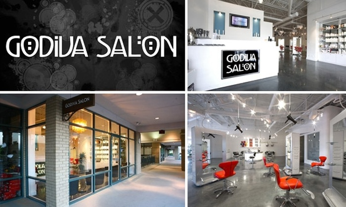 Godiva Salon - Peachtree Heights West: $50 for $125 Worth of Hair Services at Godiva Salon