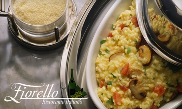 Fiorello Ristorante Italiano - Saunders: $12 for $25 Worth of Italian Fare and Drinks at Fiorello Ristorante Italiano in Newport News