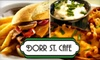 Dorr St. Cafe - Reynolds Corners: $7 for $15 Worth of Pub Fare and Drinks at Dorr St. Cafe