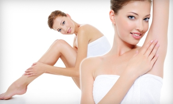 Kellogg Clinic - Multiple Locations: Three Laser Hair-Removal Treatments at Kellogg Clinic. Choose Between Two Options.