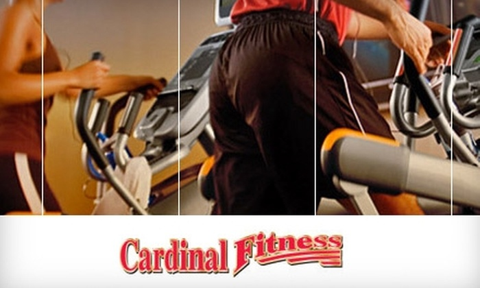 Cardinal Fitness - Multiple Locations: $29 for 29 One-Day Passes Plus One Personal-Training Session and Fitness Assessment at Cardinal Fitness ($253 Value)