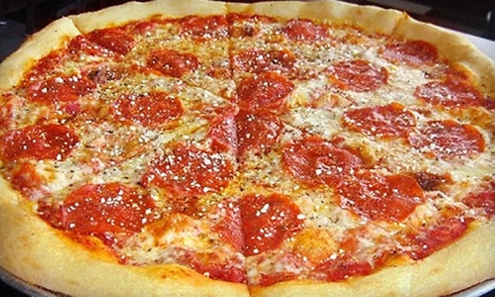 New York Richie's - Garden City: $5 for $10 Worth of Pizza, Sandwiches, and Other Italian-American Fare at New York Richie's