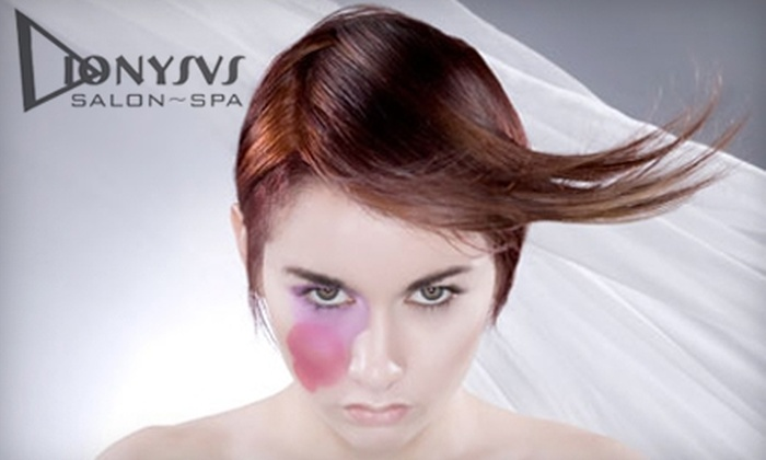 Dionysus Salon/Spa - Multiple Locations: $60 for $150 Worth of Services at Dionysus Salon/Spa