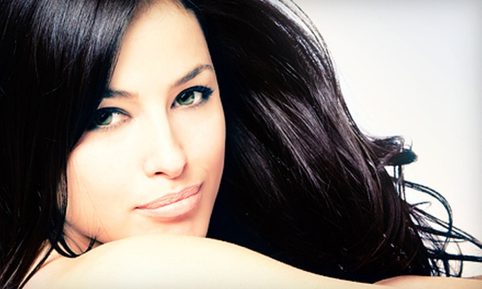 Janettics Hair Studio - Town N County Park: Haircut Packages at Jannettics Hair Studio (Up to 60% Off). Two Options Available.
