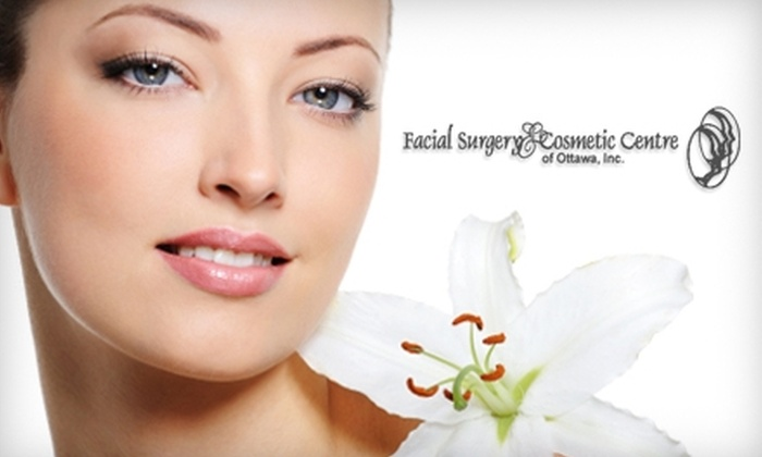 Facial Surgery & Cosmetic Centre of Ottawa - Billings Bridge - Alta Vista: $99 for a Physician Consultation, Complexion Analysis, Chemical Peel, and LED Treatment at Facial Surgery & Cosmetic Centre of Ottawa ($250 Value)