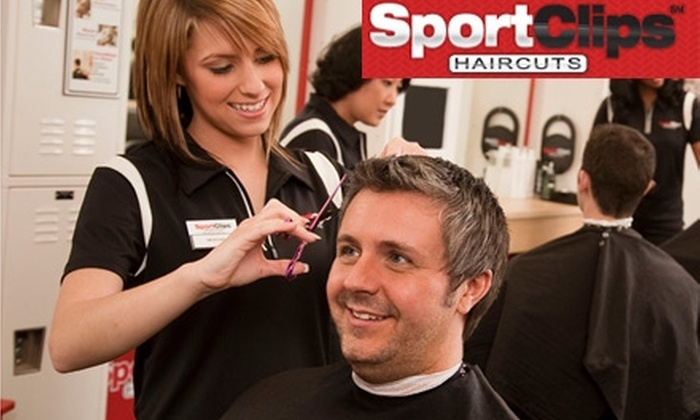 Sport Clips - Multiple Locations: $11 for One MVP Men's Haircut at Sport Clips (Up to $22 Value)