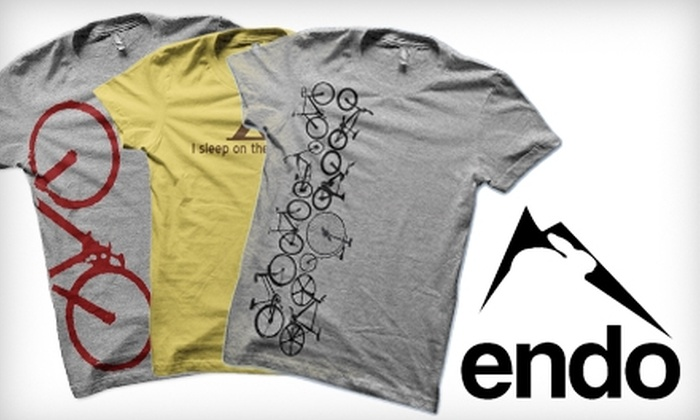 Endo: $15 for $30 Worth of Printed Tees and Hoodies from Endo