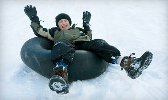 Mt. Baldy - South Antelope Valley: Tubing Adventure for One or One All-Day Skiing Outing at Mt. Baldy (Up to 58% Off)