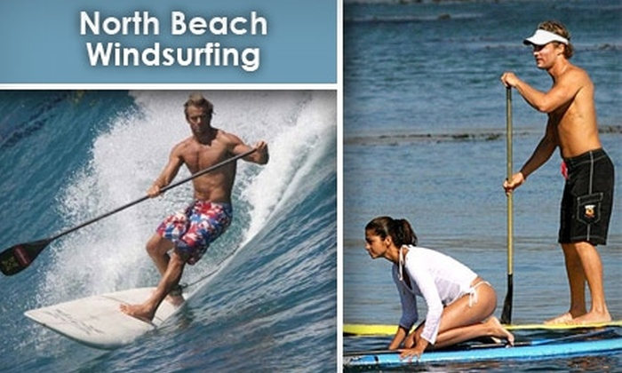 North Beach Windsurfing - Tampa Bay Area: $30 for Two-Hour Stand-Up Paddle-Boarding Lesson at North Beach Windsurfing ($60 Value)