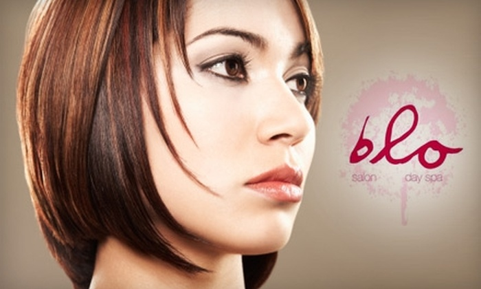 Blo Salon and Spa - DePaul: $65 for Three Spray-Tan Sessions at Blo Salon and Spa ($150 Value)