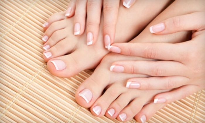 Body Angels Spa  - Brandon: $32 for Mani-Pedi with Hand-and-Foot Paraffin Treatment at Body Angels Spa in Brandon ($64 Value)