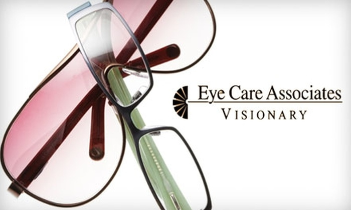 Eye Care Associates - Multiple Locations: $50 for $250 Worth of Prescription Eyewear from Eye Care Associates. Choose from 19 Locations.