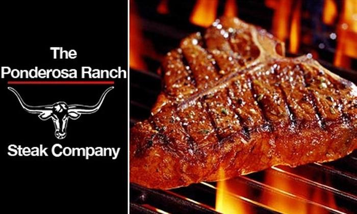 Ponderosa Ranch Steak Company - Boston: $129 for 24 All-Natural, Gourmet Steaks from Ponderosa Ranch Steak Company ($288 Value)