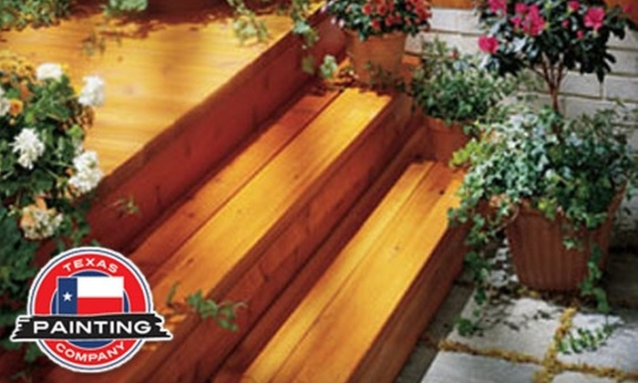 Texas Painting Company - Downtown Plano: $125 for a Complete Exterior Power Wash from Texas Painting Company ($275 Value)