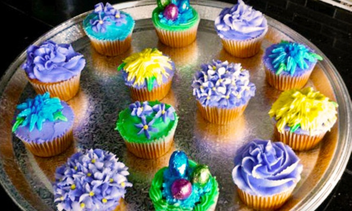 Crystalized Cupcakes - Vaughan: One Dozen Cupcakes or Cupcake-Decorating Party from Crystalized Cupcakes