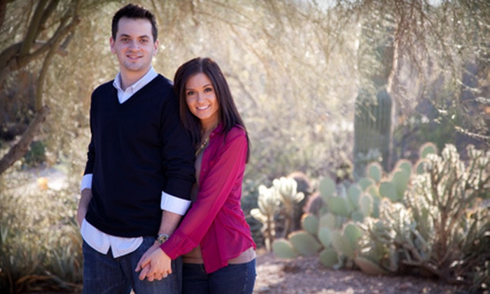 "I Do Photography - Peoria: $69 for an Engagement or Family Photo-Shoot Package with 11""x14"" Print and DVD from I Do Photography ($475 Value)"