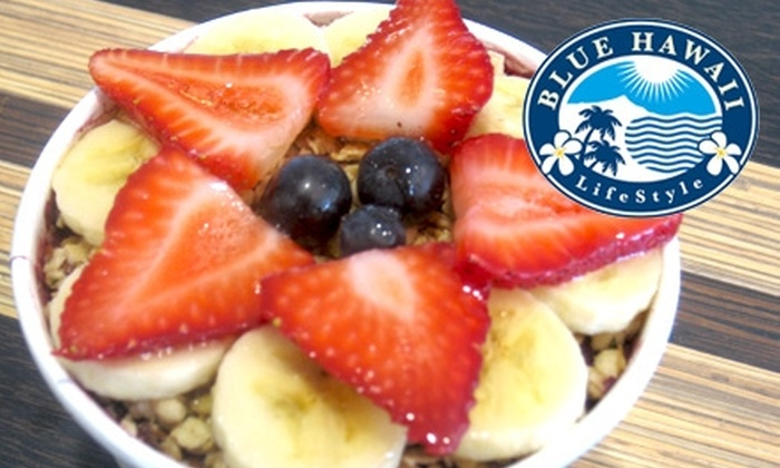 Blue Hawaii LifeStyle Café - Financial District: $5 for $10 Worth of Acai Bowls and Healthy Hawaiian-Style Eats at Blue Hawaii LifeStyle Café