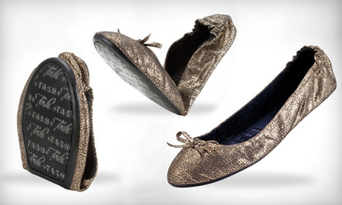 Tash Limited: $20 for $40 Worth of Foldable Flats, Sandals, Heels, and Boots from Tash Limited