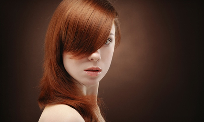 Alan Scott Mae Salon - Raleigh / Durham: Highlights Package with a Cut and Style or a Keratin-Straightening Treatment at Alan Scott Mae Salon (Up to 70% Off)
