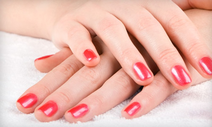 Sarah Jones - North Los Altos: $22 for a Shellac Manicure from Sarah Jones in Los Altos ($45 Value)