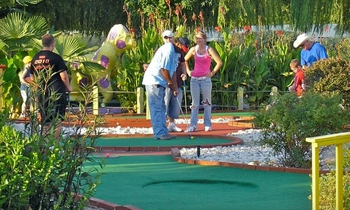 Cabot Miniature Golf - Hill: $10 for Four Rounds of Mini Golf at Cabot Miniature Golf ($20 Value) in Cabot