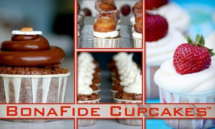 BonaFide Cupcakes - Washington DC: $20 for One Dozen Cupcakes with Delivery from BonaFide Cupcakes ($40 Value)