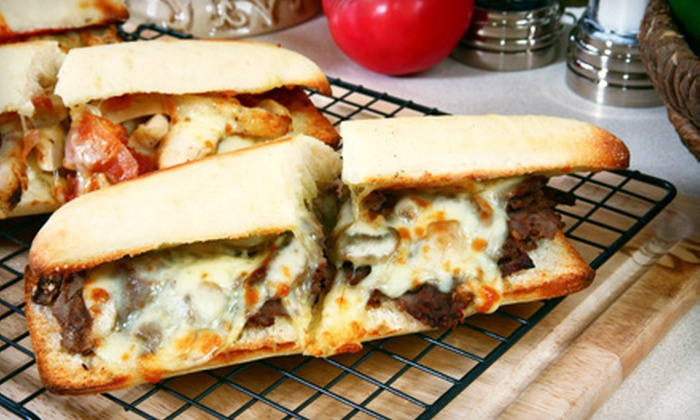 Barb's Philly Cheesesteak - Tarzana: $12 for a Philly Cheesesteak Meal with Sides and Dessert for Two at Barb's Philly Cheesesteak in Tarzana ($25 Value)