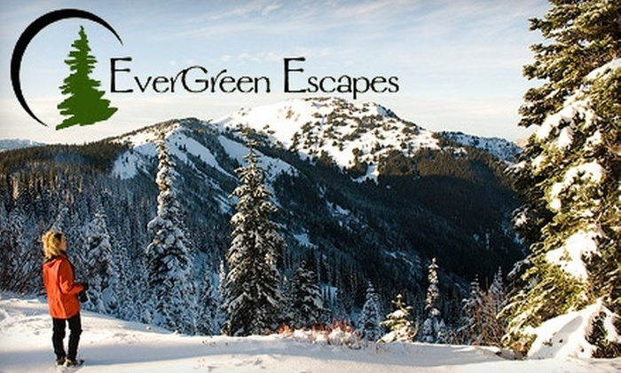 EverGreen Escapes - Mid-Beacon Hill: $59 for a Half-Day Snowshoe Tour in the Cascade Mountains from EverGreen Escapes ($125 Value)