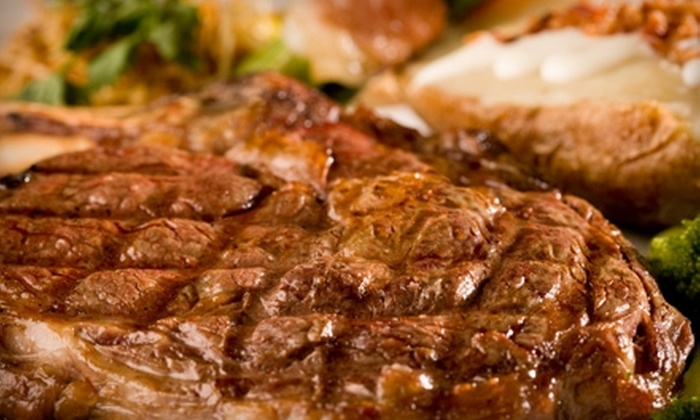 Manhattan's - Lockport: $15 for $30 Worth of Steaks, Seafood, and Drinks at Manhattan's in Lockport