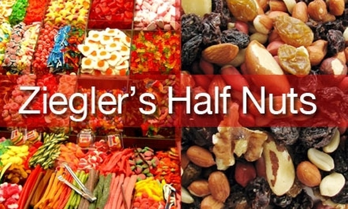 Half Nuts - West Allis: $7 for $15 Worth of Sweets, Treats, and More at Half Nuts