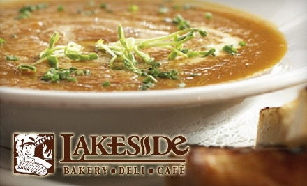 $10 Groupon to Lakeside Bakery and Cafe - Lakeside Bakery and Cafe in Leamington