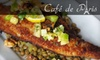 Café De Paris - Southside: $20 for $40 Worth of Fine French Cuisine at Café de Paris