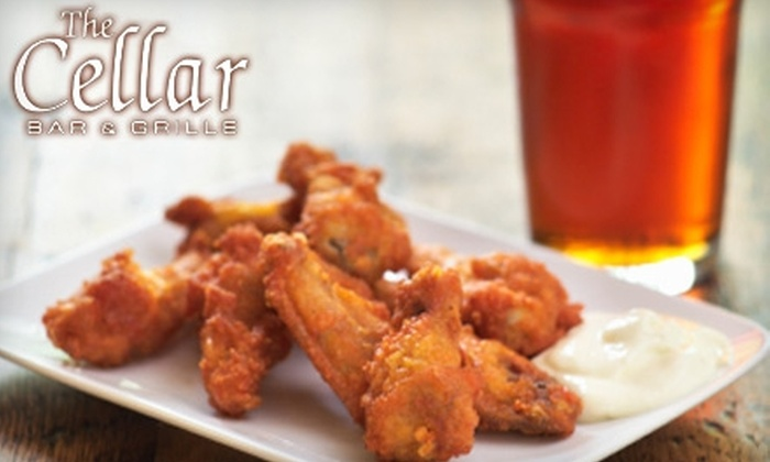 The Cellar Bar & Grille - Lansdowne: $6 for $12 Worth of Pub Grub and Drinks at The Cellar Bar & Grille