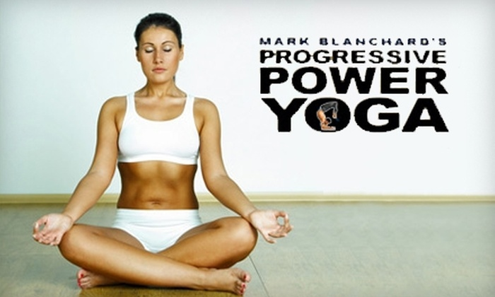 Mark Blanchard's Power Yoga - Ranch View: $30 for One Month of Unlimited Yoga at Mark Blanchard's Power Yoga