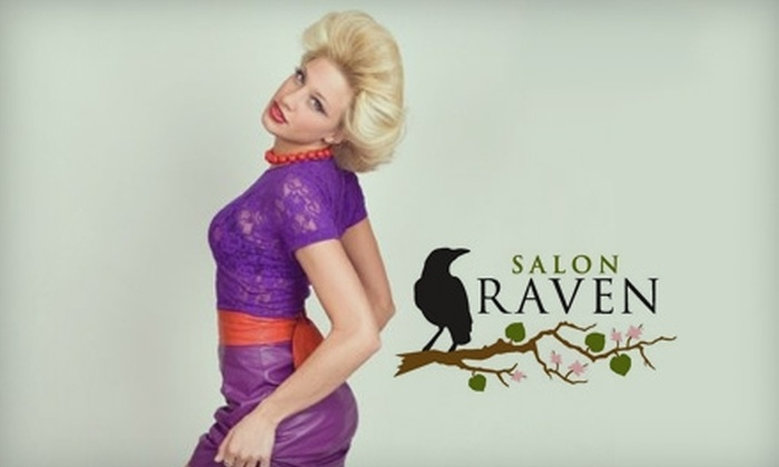 Salon Raven - Perinton: $50 for a Women's Haircut and Color ($110 Value) or $20 for a Women's Haircut and Blow Dry ($45 Value) at Salon Raven
