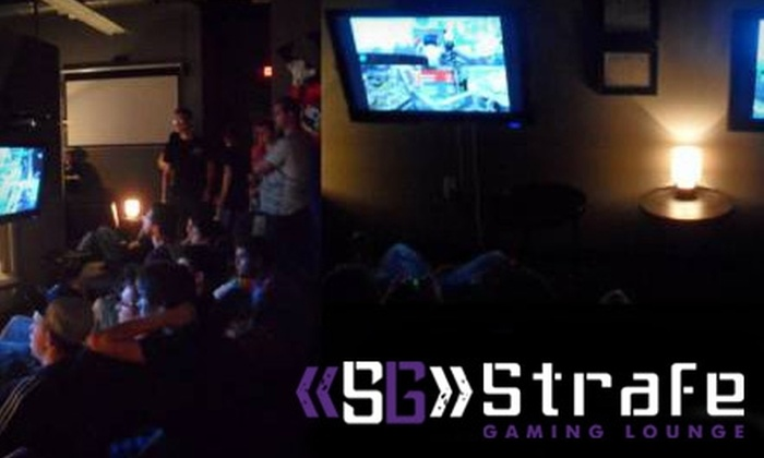 Strafe Gaming Lounge - Fuquay-Varina: Unlimited Gaming or a Birthday Party at Strafe Gaming Lounge. Choose from Three Options.