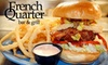 French Quarter Bar & Grill - Pompano Professional Plaza: $15 for $30 Worth of New Orleans Cuisine and Drinks at French Quarter Bar & Grill in Pompano Beach