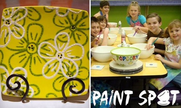 Paint Spot - East Louisville: $12 for $25 Worth of Paint-Your-Own Pottery at Paint Spot