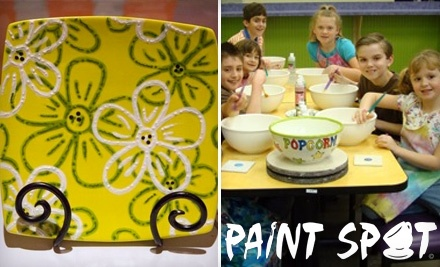 $25 Groupon to Paint Spot - Paint Spot in Louisville